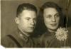 Анатолий Пушкин и Зоя Родина-Пушкина,1937 год